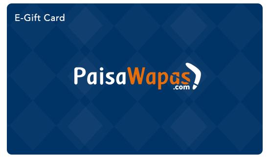 PaisaWpas E Gift Card