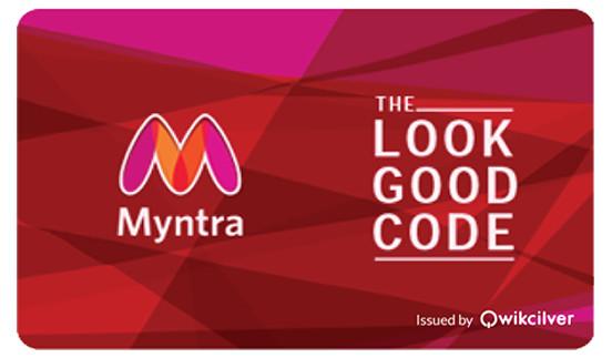 Myntra E-Gift Voucher