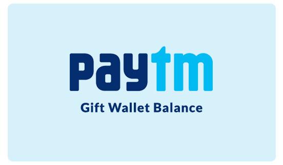 Paytm Gift Wallet Balance