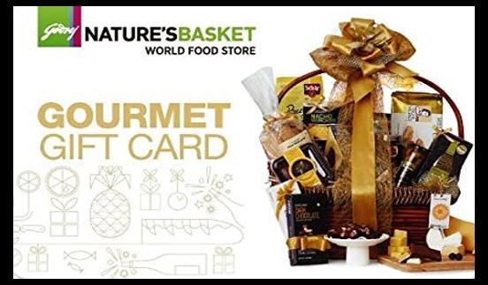 Godrej Nature's Basket E-Gift Card