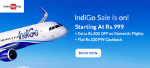 Indigo Flight Sale | Fares Starting At Rs.999