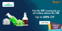 Upto 50% Off + Flat Rs.210 Cashback on All Orders