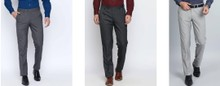 Flat 40% off on Men's Trousers, Starting at Rs.419