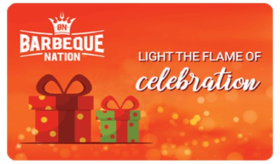 Barbeque Nation E-Gift Card