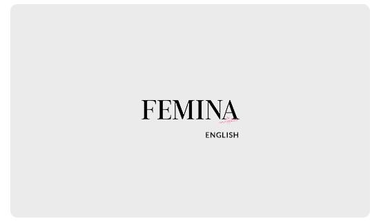 Femina English - Annual Subscription E Gift Card