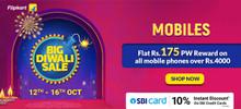 BIG DIWALI SALE | Upto 50% Off on Mobiles, Tablets + Rs.175 PW Reward on Order of Rs.4000