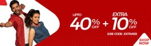 BIG BRAND LOOT | Upto 40% Off + Extra 10% Off on All Fashions & Accessories