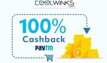 PAYTM 100% CASHBACK| Flat Rs.1500 Cashback on Order of Rs.1500