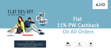 No If's & But's SALE| Flat 50% Off + Extra 10% HDFC CB On Almost Everything