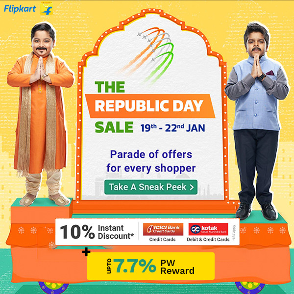 Flipkart Big Shopping Days Sale Live