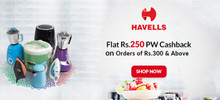 AWESOME DEAL | Flat Rs.250 PW Cashback on Orders of Rs.300 and Above