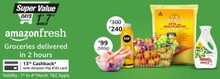 SUPER VALUE DAY | Upto 50% Off + Extra 13% Cashback with Amazon Pay ICICI Card Discount on Grocery