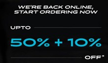 Upto 50% Off + Extra 10% Off on All Order