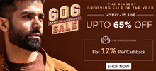 GAME OF GROOMING SALE | Upto 65% Off on All Grooming Products