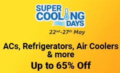 SUPER COOLING DAYS | Upto 65% Off on ACs, Refrigerators, Air Coolers & More + Upto Rs. 2000 Off via HDFC Cards