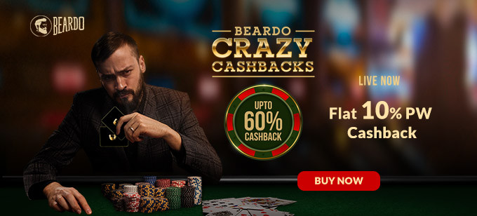 BEARDO CRAZY CASHBACKS | Flat 15% Off + Upto 40% To 60% Cashback + Free Shipping On Prepaid Orders