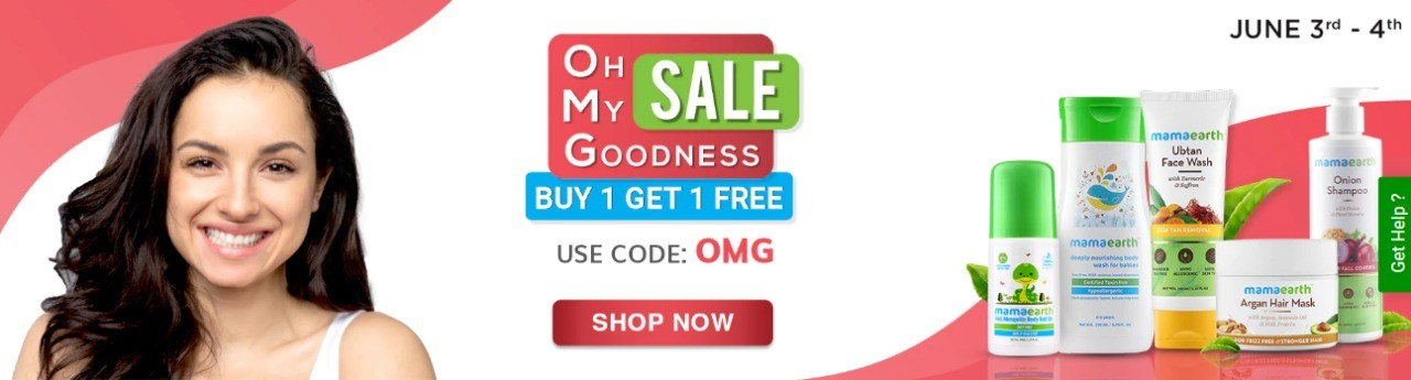 OH MY GOODNESS SALE | Buy 1 Get 1 FREE at MAMAERTH