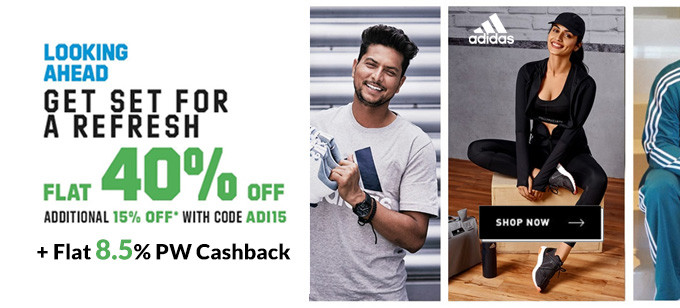 Adidas India Offers