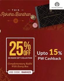 RAKSHA BANDHAN SALE | Flat 25% Off on Rakhi Gift Collection