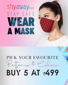 FABRIC FACE MASK | Buy 10 Mask at Rs.748