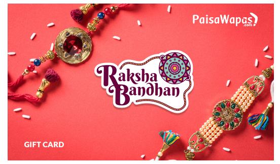 PW Raksha Bandhan E Gift Card