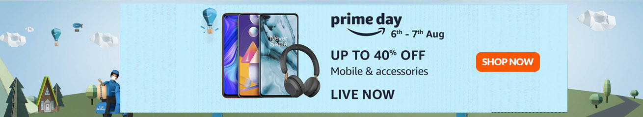 Amazon Prime Day Sale Offers - August (6th - 7th 2020)