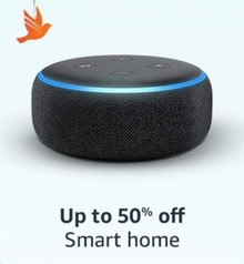 Upto 50% Off on Smart Home Devices