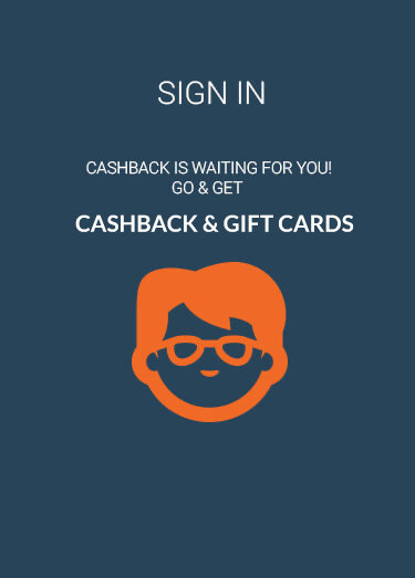 Sign In Now to Receive Extra Cashback