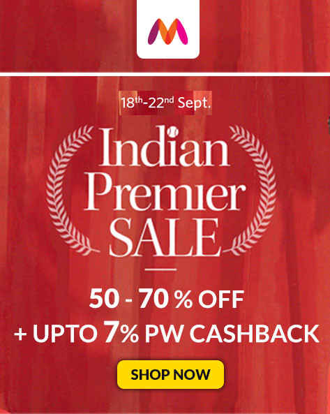 INDIAN PREMIER SALE | Flat 50% To 70% Off on Clothing, Footwear, Accessories & More