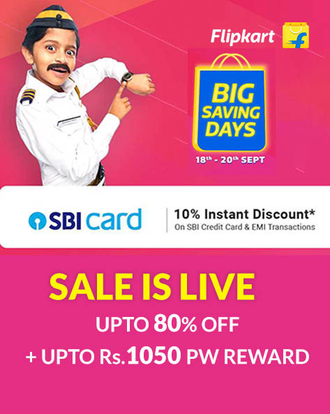 BIG SAVING DAYS | Get upto 80% off on fashion, mobiles, electronics, furniture & more