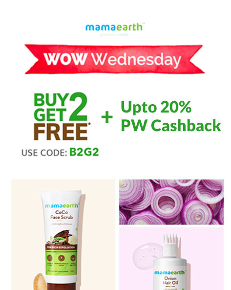 WOW WEDNESDAY | Buy 2 Get 2 Free (Free Ubtan Face Mask & Onion Hair Mask)