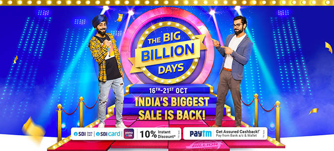 Flipkart Big Saving Days Sale October 2020