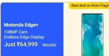 Motorola Edge+ (256 GB) at Rs.64999