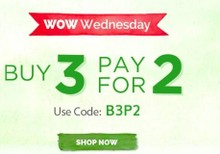 WOW WEDNESDAY | Buy 3 Pay for 2 on All Mamaearth Products
