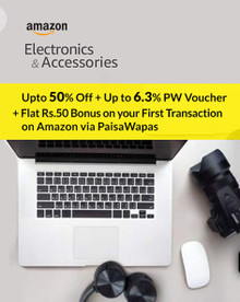 The Electronics Sale| Upto 50% Off on Electronics & Accessories + Exchange & No Cost EMI