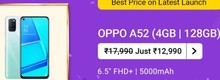 OPPO A52 at Rs.12990