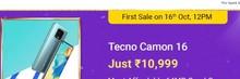 Tecno Camon, Starting at Rs.10999