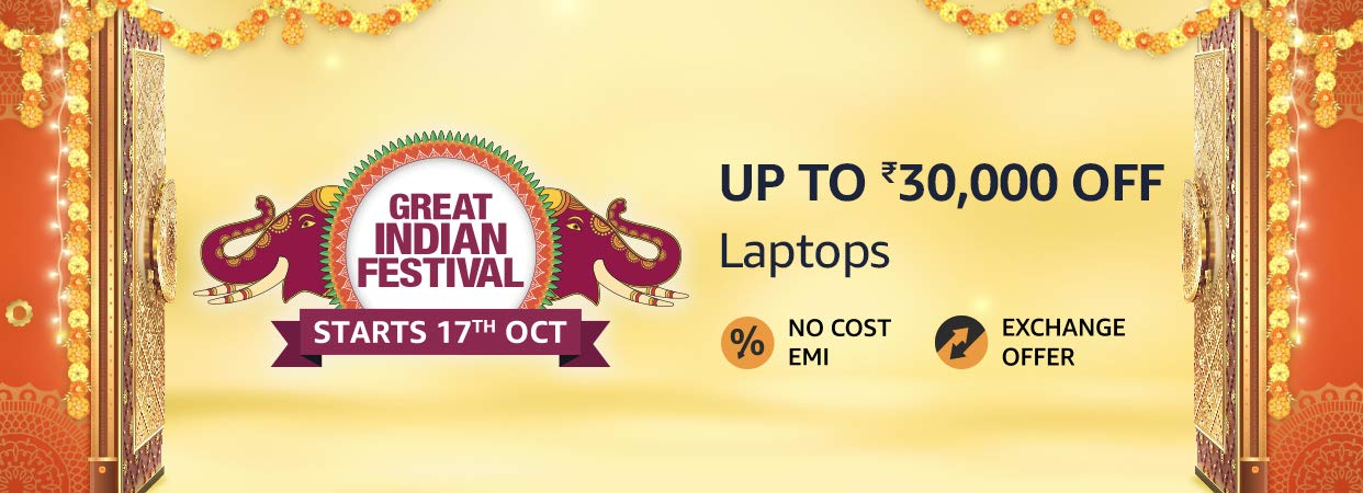 Amazon Offers on Laptops