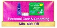 Upto 40% Off on Personal Care & Grooming Products