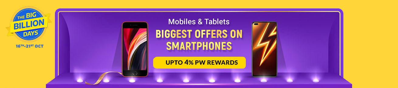 Flipkart Big Billion Days Offers on Mobiles - 16th October 2020 to 21st October 2020