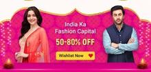 Get 60-80% Off on Men's Fashion