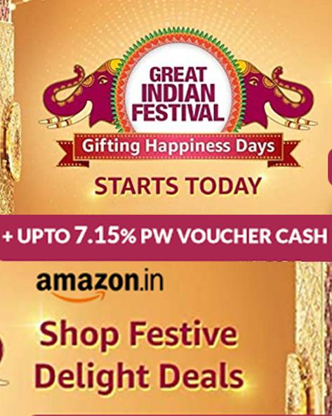 GREAT INDIAN FESTIVAL | Upto 70% Blockbuster Deals + Extra 10% ICICI/Kotak/Citibank Discount + Bonus Offer