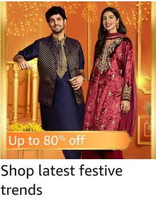 Get up to 80% Off on Clothing