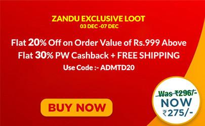 Zandu Care Offers