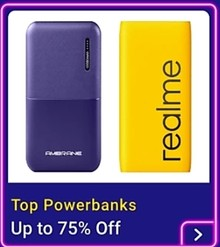 Up to 75% off on Top Power Banks