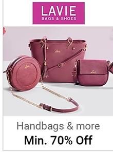 Minimum 70% Off on Women Handbags