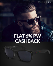 Get Flat 20% Off on Villain Predator Sunglasses