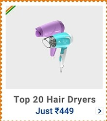 Get up to 30% Off on Hair Dryers