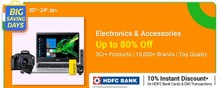 Get up to 80% Off on Electronics & Accessories