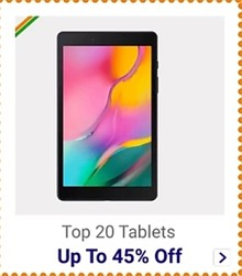 Get up to 45% Off on Premium Tablets